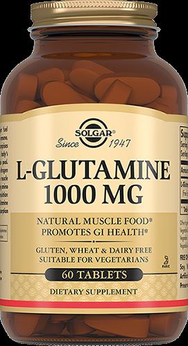 Фото - Solgar L- Глутамин L-Glutamine Таблетки 1000 мг №60 biotech nutrition l glutamine 240 г