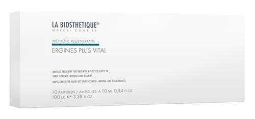 La Biosthetique Ergines Plus Vital Сыворотка Питательная для Укрепления Волос 50ам. la biosthetique ergines regenerantes сыворотка против выпадения волос 10ам