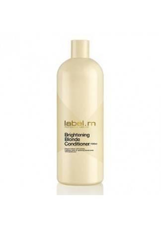 Label.m Осветляющий Кондиционер для Блондинок, 1000 мл label m осветляющий шампунь для блондинок 300 мл