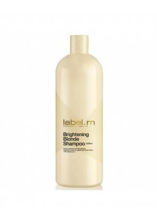 Label.m Осветляющий Шампунь для Блондинок, 1000 мл label m осветляющий шампунь для блондинок 300 мл