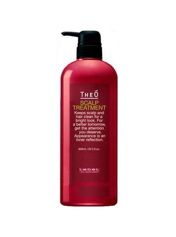 Lebel Cosmetics Крем-Уход для Кожи Головы Theo Scalp Treatment, 600 мл шампунь для волос lebel theo scalp ice mint 600 мл