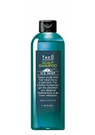 Lebel Cosmetics Шампунь Theo Scalp Shampoo Ice Mint, 320 мл