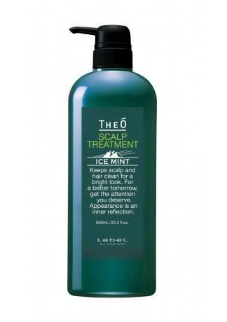 Lebel Cosmetics Крем-Уход для Кожи Головы Theo Scalp Treatment Ice Mint, 600 мл шампунь для волос lebel theo scalp ice mint 600 мл