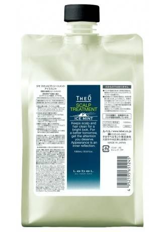 Lebel Cosmetics Крем-Уход для Кожи Головы Theo Scalp Treatment Ice Mint, 1000 мл шампунь для волос lebel theo scalp ice mint 600 мл
