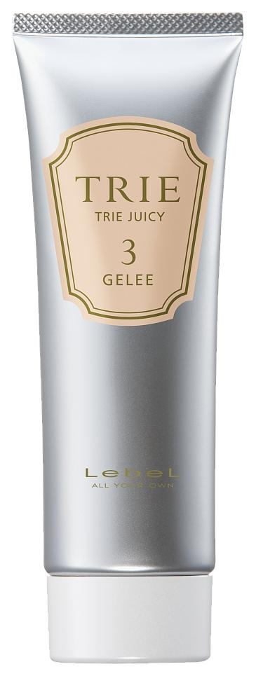 Lebel Cosmetics Гель-Блеск для Укладки Волос Trie Juicy Gelee 3, 80г lebel cosmetics эмульсия для волос серии trie trie move emulsion 8 50г