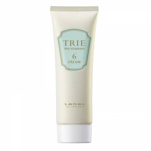 Lebel Cosmetics Крем Матовый для Укладки Волос Средней Фиксации Trie Powdery Cream 6, 80г