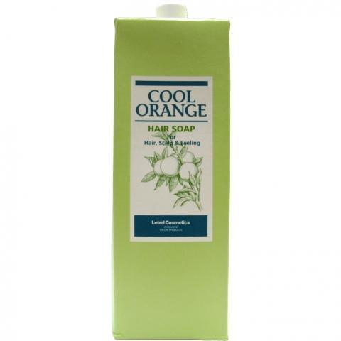 Lebel Cosmetics Шампунь Cool Orange Hair Soap Холодный Апельсин, 1600 мл