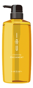 Lebel Cosmetics Iau Freshment Освежающий Аромашампунь для Глубокого Очищения, 600 мл