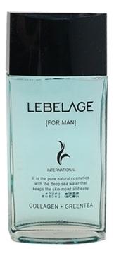 Lebelage Тонер Collagen+Green Tea For Men Skin Увлажняющий для Мужчин с Коллагеном и Зеленым Чаем, 150 мл it s skin collagen nutrition toner питательный тонер итс скин коллаген 150 мл