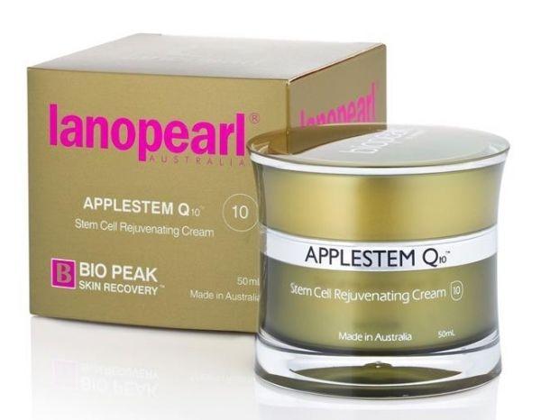 Lanopearl Крем Омолаживающий со Стволовыми Клетками Яблока Applestem Q10, 50 мл