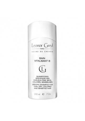 Leonor Greyl Восстанавливающая ванна-шампунь с витамином Bain Vitalisant B, 200 мл leonor greyl bain volumateure aux algues шампунь ванна с водорослями для объема волос 200 мл