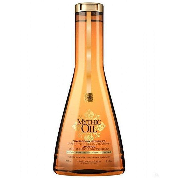 L'Oreal Professionnel Шампунь для Тонких Волос Mythic Oil, 250 мл londa velvet oil масло для волос вельвет 30 мл