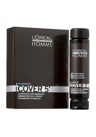 LOreal Professionnel Гель Homme Cover 5 Тонирующий Кавер №3, 50 мл