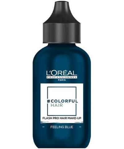 LOreal Professionnel Макияж Colorful Hair Flash Feeling Blue для Волос, 60 мл