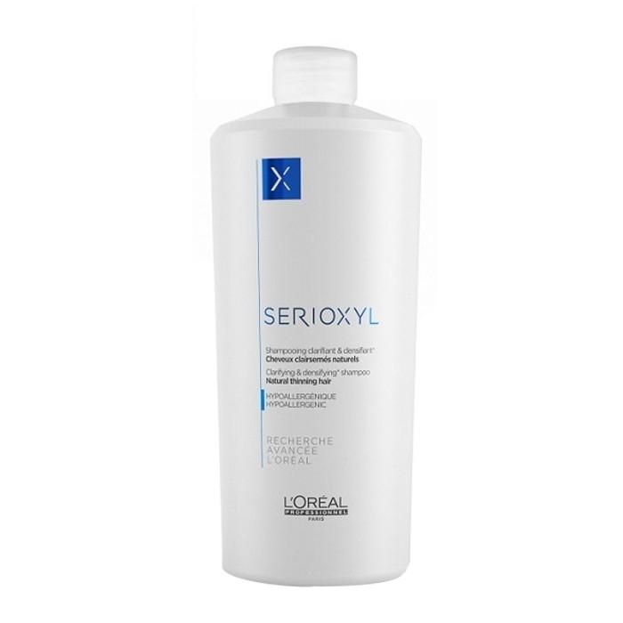 L'Oreal Professionnel Шампунь для Натуральных Волос Serioxyl, 1000 мл l oreal professionnel serioxyl fuller hair 2 набор для окрашенных волос 250х250х125 мл