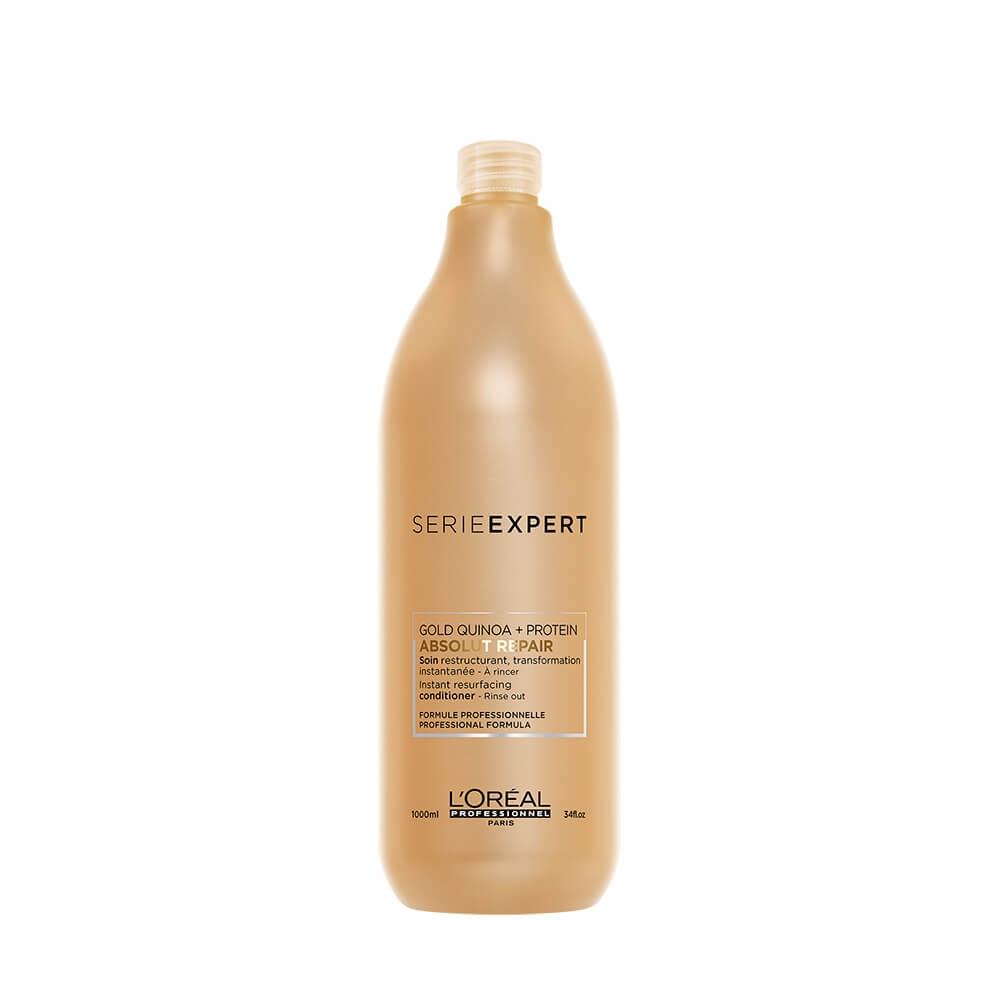 L'Oreal Professionnel Смываемый Уход Голд Absolut Repair Gold, 1000 мл l oreal professionnel smartbond смываемый уход для волос с керамидами 250 мл
