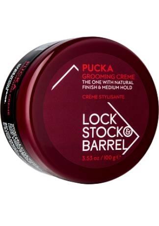 Lock Stock and Barrel Крем для Тонких и Кудрявых Волос PUCKA GROOMING CREME, 100 гр