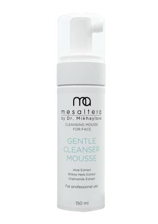 цены Mesaltera By Dr. Mikhaylova Мусс Gentle Cleanser Mousse Джентл Клинсер, 150 мл