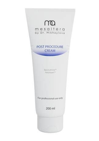 Mesaltera By Dr. Mikhaylova Крем Post Procedure Cream Восстанавливающий с Пептидами, 200 мл