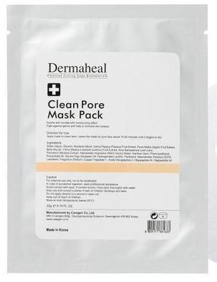 Dermaheal Маска Clean Pore Mask Pack Очищающая Индивидуальная, 22г