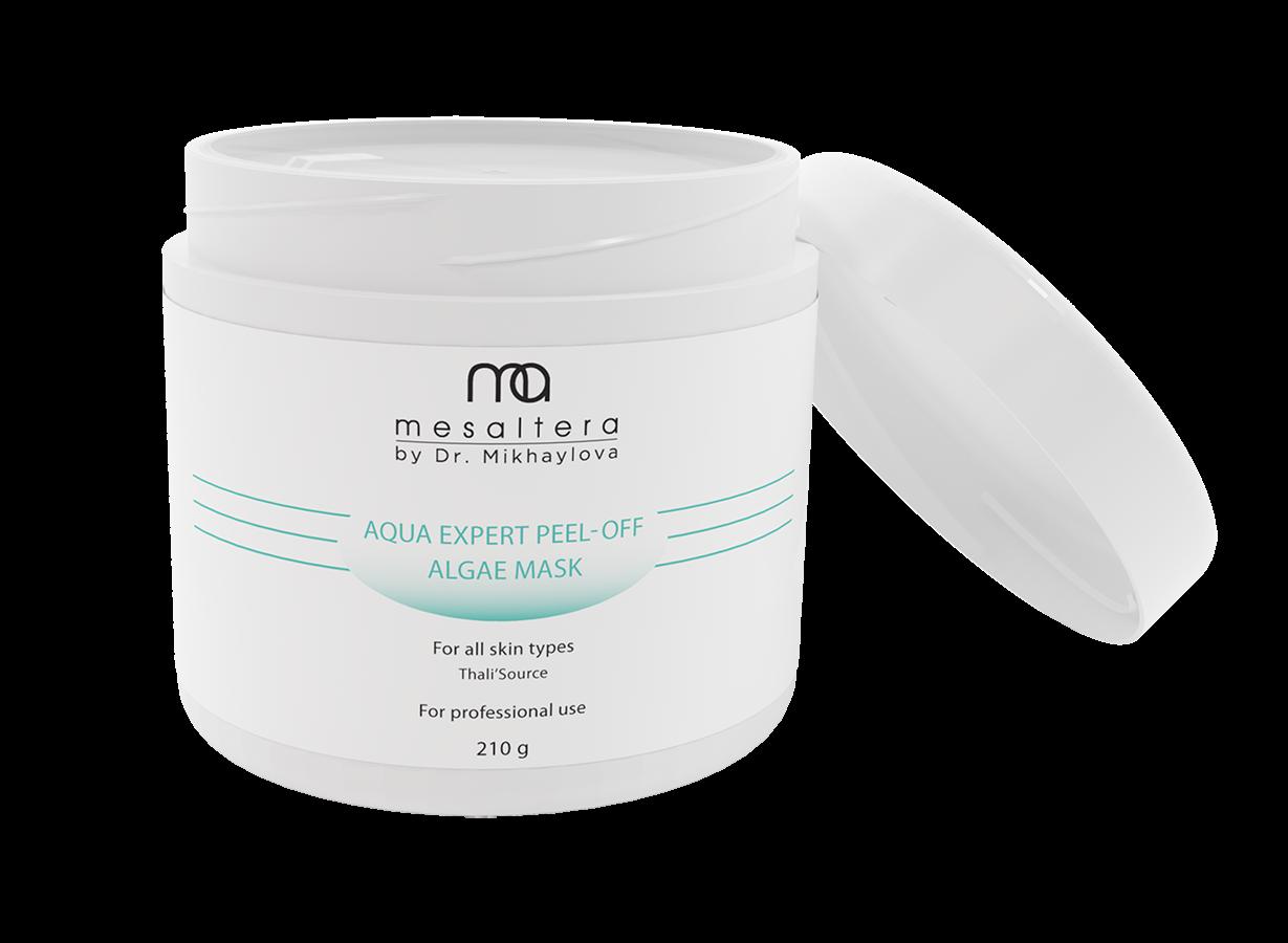 Mesaltera By Dr. Mikhaylova Маска Aqua Expert Peel-Off Algae Mask Аква Эксперт Увлажняющая Альгинатная, 210г