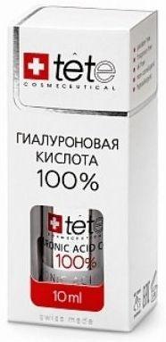 TETe Cosmeceutical MINI Гиалуронова кислота 100%, 10 мл tete cosmeceutical маска успокаивающая с хитозаном 500г