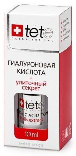 TETe Cosmeceutical MINI Гиалуронова кислота + Секрет улитки, 10 мл tete cosmeceutical гиалуронова кислота комплекс пептидов 30 мл