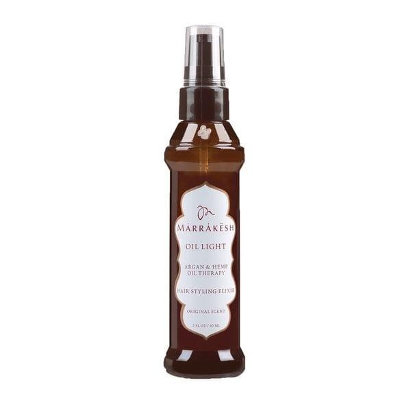 Marrakesh Легкое Восстанавливающее Масло для Волос Original, 60 мл аромаджаз масло арганы жидкое для загара аргана 200 мл
