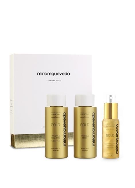 MIRIAMQUEVEDO Набор-Люкс для Интенсивного Питания и Восстановления Sublime gold, 100 мл+100 мл+50 мл недорого