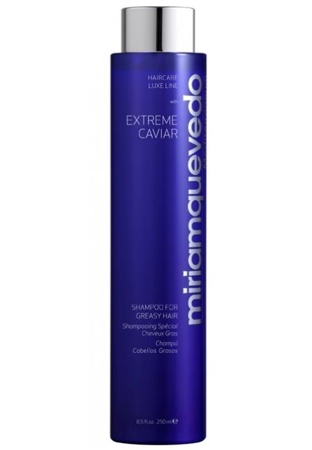 MIRIAMQUEVEDO Шампунь для Жирных Волос Extreme Caviar, 250 мл шампунь с маслом шикакай амлой для жирных волос farm oils farm oils 250 мл