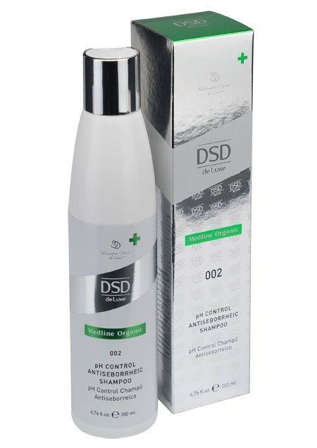 Medical Organic Line Шампунь pH Control Antiseborrheic Shampoo Антисеборейный Контроль pH, 200 мл