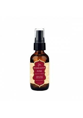 Marrakesh Чистое Масло Арганы для Лица, Тела и Волос Pure Argan Oil, 60 мл londa velvet oil масло для волос вельвет 30 мл