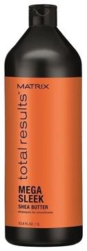 MATRIX Шампунь Total Results Mega Sleek для Гладкости Волос Мега Слик, 1000 мл matrix total results mega sleek conditioner кондиционер с маслом ши для гладкости волос 300 мл