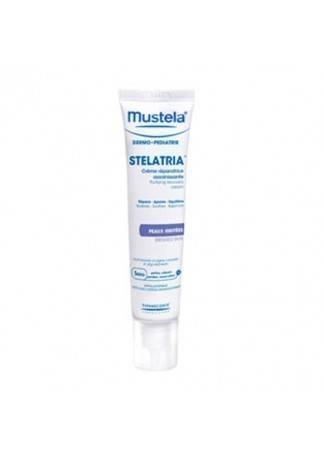 Mustela Крем-Эмульсия Восстанавливающая Стелатрия, 40 мл mustela крем быстрого действия комфорт для ног 125 мл