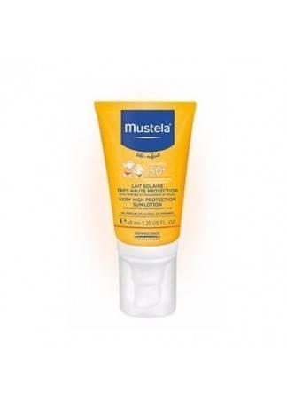 Mustela Молочко Солнцезащитное SPF 50+ Бебе, 40 мл мустела бебе гель