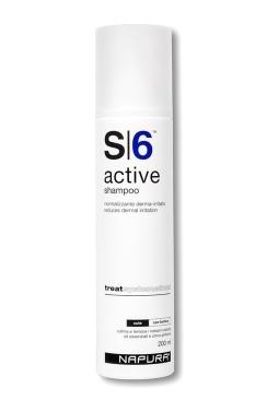 цены на Napura Active S6 Шампунь Против Перхоти для Раздраженной Кожи Active, 200 мл в интернет-магазинах