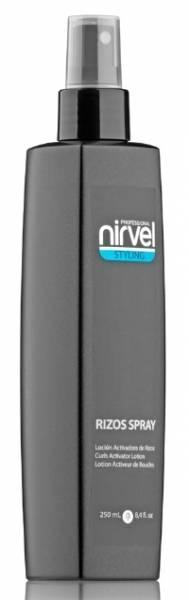Nirvel Professional Спрей-Лосьон Активатор Локонов RIZOS SPRAY CURLY ACTIVATOR, 250 мл nirvel rizos gel гель для вьющихся волос 250 мл