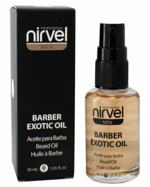 Nirvel Professional Масло для Бороды и Усов BARBER EXOTIC OIL, 30 мл nirvel wax воск для бороды и усов 50 мл