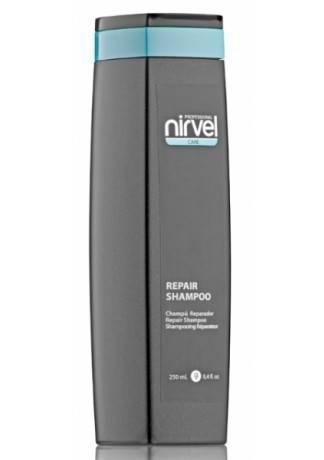 Nirvel Professional Шампунь для Сухих и Поврежденных Волос REPAIR SHAMPOO, 250 мл nirvel professional шампунь для натуральных волос daily shampoo 250 мл