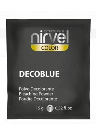 Nirvel Professional Блондирующая Пудра (Синяя) DECOBLUE, 15г цена 2017