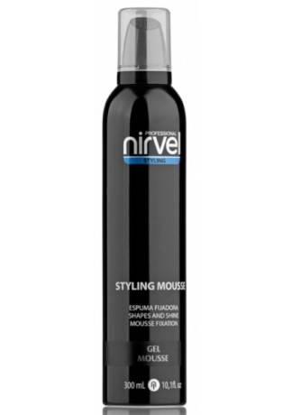 цена на Nirvel Professional Гуль-Мусс для Завершения Укладки Волос GEL MOUSSE, 300 мл