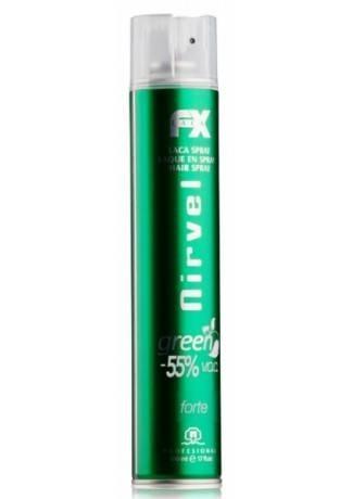 цена на Nirvel Professional Лак для Волос Сильной Фиксации GREEN FORTE, 500 мл