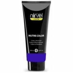 Nirvel Professional Питательная Гель-Маска Цвет Ультрамарин NUTRE COLOR KLEIN BLUE, 200 мл