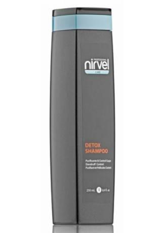 Nirvel Professional Шампунь Detox Shampoo против Себореи Перхоти, 250 мл шампунь дюкрей от себореи