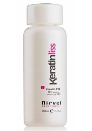 Nirvel Professional Кератиновый Шампунь SHAMPOO PRE №1, 250 мл