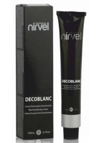 Nirvel Professional Крем, Усиливающий Осветление и Нейтрализацию DECOBLANC, 100г цена 2017