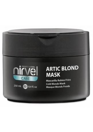 Nirvel Professional Маска Artic Blond Mask для Поддержания Холодных Оттенков Блонд, 250 мл