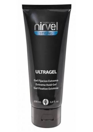 Nirvel Professional Гель для Волос Экстрасильной Фиксации ULTRAGEL, 200 мл капли relaxivet успокоительные spot on 0 5 мл х 4шт в уп