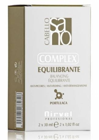 Nirvel Professional Лосьон-Комплекс Balancing Control Comple для Чувствительной Кожи Головы, 2*30 мл кожи 30 мл