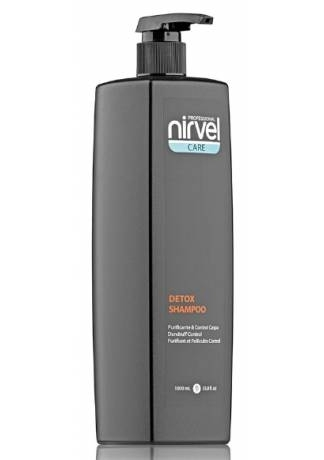 Nirvel Professional Шампунь Detox Shampoo против Себореи Перхоти, 1000 мл шампунь дюкрей от себореи